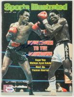 "Sugar Ray Leonard Signed 1981 ""Sports Illustrated"" Magazine (PSA COA) at PristineAuction.com"