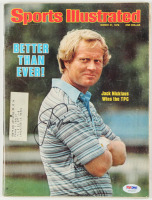 "Jack Nicklaus Signed 1978 ""Sports Illustrated"" Magazine (PSA COA) at PristineAuction.com"