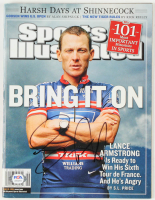 "Lance Armstrong Signed 2004 ""Sports Illustrated"" Magazine (PSA COA) at PristineAuction.com"