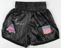Mike Tyson Signed Boxing Trunks (Fiterman Sports Hologram) at PristineAuction.com