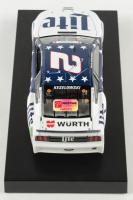 Brad Keselowski Signed 2020 NASCAR #2 Miller Lite Patriotic - 1:24 Premium Action Diecast Car (PA COA) at PristineAuction.com