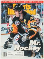 """Mario Lemieux Signed 1992 """"Sports Illustrated"""" Magazine (JSA COA) at PristineAuction.com"""