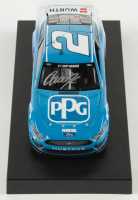 Brad Keselowski Signed 2020 NASCAR #2 PPG - 1:24 Premium Action Diecast Car (PA COA) at PristineAuction.com