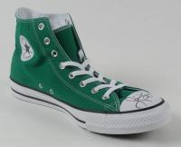 Larry Bird Signed Converse Shoe (PSA COA & Bird Hologram) at PristineAuction.com