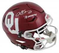 "Kyler Murray Signed Oklahoma Sooners Full-Size Authentic On-Field Speed Flex Helmet Inscribed ""18 Heisman"" (Beckett COA) at PristineAuction.com"