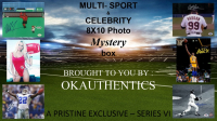 OKAUTHENTICS Multi-Sport & Celebrity 8x10 Photo Mystery Box Series VI at PristineAuction.com
