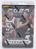 2020-21 NBA Panini Prizm Draft Picks Basketball Blaster Box with (7) Packs at PristineAuction.com