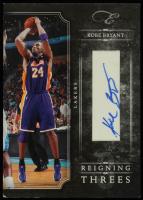 Kobe Bryant 2010-11 Elite Black Box Reigning Threes Signatures #1 at PristineAuction.com