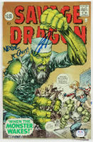 "Robert O'Neill Signed 1993 ""Savage Dragon"" Issue #177 Image Comic Book Inscribed ""Never Quit!"" (PSA COA) at PristineAuction.com"