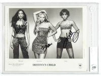 Beyonce, Kelly Rowland & Michelle Williams Signed Destiny's Child 8x10 Photo (BAS Encapsulated) at PristineAuction.com