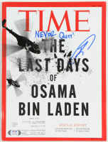 "Robert O'Neill Signed 2012 ""Time"" Magazine Inscribed ""Never Quit!"" (PSA COA) at PristineAuction.com"