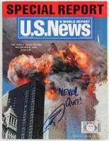 "Robert O'Neill Signed 2001 ""U.S News & World Report"" Magazine Inscribed ""Never Quit!"" (PSA COA) at PristineAuction.com"