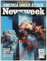 "Robert O'Neill Signed 2001 ""Newsweek"" Magazine Inscribed ""Never Quit!"" (PSA COA) at PristineAuction.com"