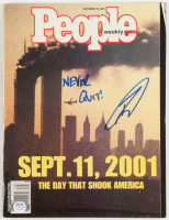 "Robert O'Neill Signed 2001 ""People Weekly"" Magazine Inscribed ""Never Quit!"" (PSA COA) at PristineAuction.com"