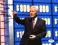 "Alex Trebek Signed ""Jeopardy"" 8x10 Photo Inscribed ""The Answer Is"" (PSA COA) at PristineAuction.com"