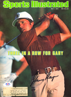 Gary Player Signed 1978 Sports Illustrated Magazine Cover 8x10 Photo (PSA COA) at PristineAuction.com