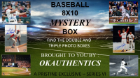 OKAUTHENTICS Baseball 8x10 Mystery Box Series VI at PristineAuction.com