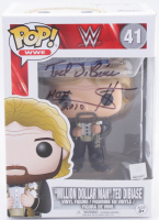 "Ted DiBiase Signed WWE #41 Million Dollar Man Funko Pop! Vinyl Figure Inscribed ""$"" & ""HOF 2010"" (PSA COA) at PristineAuction.com"