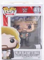 "Ted DiBiase Signed WWE #41 Million Dollar Man Funko Pop! Vinyl Figure Inscribed ""$"" & ""HOF 2010"" (PSA COA) at PristineAuction.com"