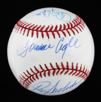Tommie Agee, Ron Swoboda, & Cleon Jones Signed ONL Baseball (Beckett LOA) at PristineAuction.com