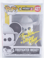 "Bret Iwan Signed #427 Firefighter Mickey Funko Pop! Vinyl Figure Inscribed ""+ Mickey Mouse"" (JSA COA) at PristineAuction.com"