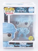 "Bruce Boxleitner Signed ""Tron"" #489 Funko Pop! Vinyl Figure Inscribed ""Tron"" (PSA COA) at PristineAuction.com"