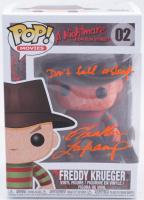 "Heather Langenkamp Signed ""A Nightmare On Elm Street"" #2 Freddy Krueger Funko Pop! Vinyl Figure Inscribed ""Don't Fall Asleep"" (PSA COA) at PristineAuction.com"