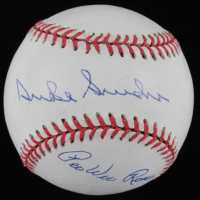 Pee Wee Reese & Duke Snider Signed OL Baseball (Beckett LOA) at PristineAuction.com