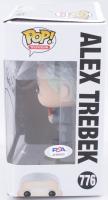 "Alex Trebek Signed ""Jeopardy"" #776 Funko Pop! Vinyl Figure Inscribed ""Who Is"" (PSA COA) at PristineAuction.com"
