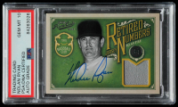Nolan Ryan Signed 2012 Prime Cuts Retired Jersey Numbers #29 SE #26/34 (PSA Encapsulated) at PristineAuction.com