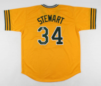 Dave Stewart Signed Jersey (Beckett COA) at PristineAuction.com