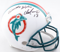 "Dan Marino Signed Dolphins Full-Size Authentic On-Field Throwback Helmet Inscribed ""Forever A Dolphin"" (JSA COA) at PristineAuction.com"