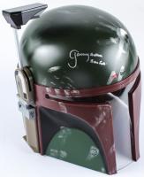 "Jeremy Bulloch Signed Star Wars ""Boba Fett"" Full-Size Deluxe Edition Star Wars Helmet Inscribed ""Boba Fett"" (Ratke COA) at PristineAuction.com"