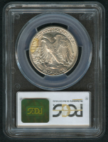 1945-D Walking Liberty Silver Half-Dollar - Toned (PCGS MS65) at PristineAuction.com