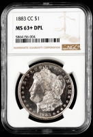 1883-CC Morgan Silver Dollar (NGC MS63+ DPL) at PristineAuction.com