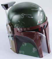 "Jeremy Bulloch Signed Star Wars ""Boba Fett"" Full-Size Deluxe Edition Star Wars Helmet Inscribed ""Boba Fett"" (Radtke COA) at PristineAuction.com"