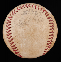 Satchel Paige Signed Vintage Baseball (JSA ALOA) at PristineAuction.com