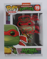 "Kevin Eastman Signed ""Teenage Mutant Ninja Turtles"" Raphael #19 Funko Pop! Vinyl Figure with Hand-Drawn Turtles Sketch (Beckett COA) at PristineAuction.com"