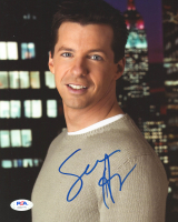 Sean Hayes Signed 8x10 Photo (PSA Hologram) at PristineAuction.com