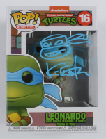 "Kevin Eastman Signed ""Teenage Mutant Ninja Turtles"" #16 Leonardo Funko Pop! Vinyl Figure with Hand-Drawn Turtles Sketch (Beckett COA) at PristineAuction.com"