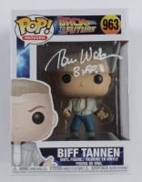 "Tom Wilson Signed ""Back To The Future"" #963 Biff Tannen Funko Pop! Vinyl Figure Inscribed ""BIFF"" (Beckett COA) at PristineAuction.com"