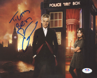 """Peter Capaldi Signed """"Doctor Who"""" 8x10 Photo (PSA Hologram) at PristineAuction.com"""