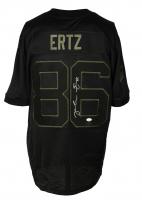 "Zach Ertz Signed Eagles ""Salute To Service"" Nike Jersey (JSA COA & Ertz Hologram) at PristineAuction.com"