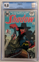"1973 ""The Shadow"" Issue #1 DC Comic Book (CGC 9.0) at PristineAuction.com"