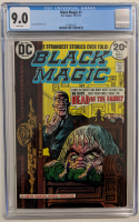 "1973 ""Black Magic"" Issue #1 DC Comic Book (CGC 9.0) at PristineAuction.com"