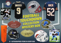 Schwartz Sports Football TOUCHDOWN Mystery Box - Series 8 (Limited to 112) (6+ Autograph Items per Box) at PristineAuction.com