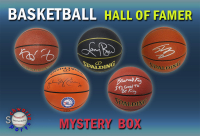 Schwartz Sports Basketball Hall of Famer Signed Basketball Mystery Box - Series 2 (Limited to 75) (Pristine Exclusive Edition) at PristineAuction.com