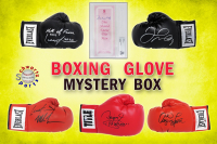 Schwartz Sports Boxing Superstar Signed Mystery Boxing Glove - Series 10 (Limited to 75) **MUHAMMAD ALI Autograph – Grand Prize** at PristineAuction.com