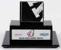 Kevin Harvick Signed NASCAR #4 Race-Used Sheet Metal Display (PA COA & Fanatics COA) at PristineAuction.com