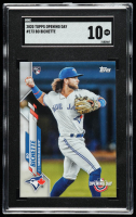 Bo Bichette 2020 Topps Opening Day #173 RC (SGC 10) at PristineAuction.com